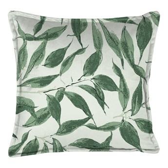 Zielona poduszka dekoracyjna Velvet Atelier Sage Leaf, 45x45 cm