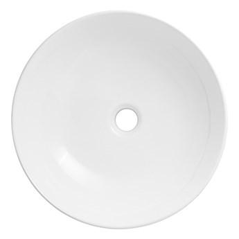 Wolnostojąca umywalka nablatowa Corsan 649988 okrągła biała 41,5 x 41,5 x 13,5 cm