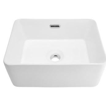 Wolnostojąca umywalka nablatowa Corsan 649957 prostokątna biała 40 x 30 x 16 cm