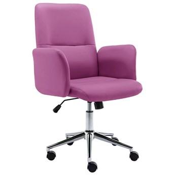 Fioletowy fotel do pracy - Tofik