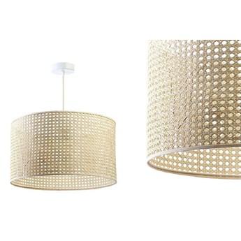 Lampa rattanowa wisząca w stylu boho 50,60cm - do salonu sypialni (Rotang-006, 1xE27) ręcznie robiona