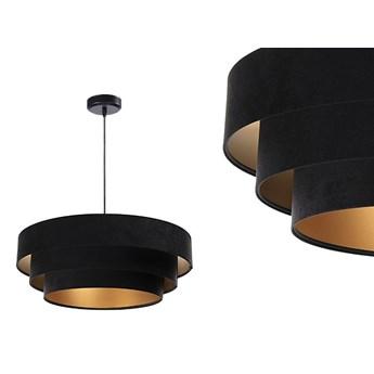 Welurowa lampa 60cm - abażur do salonu sypialni 1xE27 (Trinity 009) ręcznie robiony