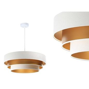 Welurowa lampa 60cm - abażur do salonu sypialni 1xE27 (Trinity 079) ręcznie robiony