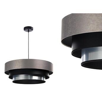 Satynowa lampa 60cm - abażur do salonu sypialni 1xE27 (Trinity 082) ręcznie robiony