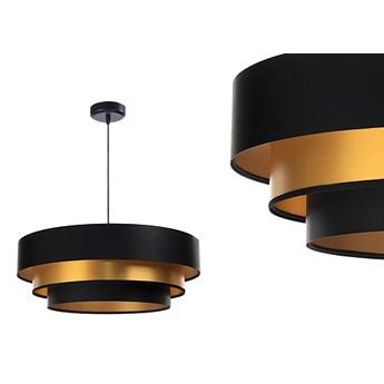 Satynowa lampa 60cm - abażur do salonu sypialni 1xE27 (Trinity 088) ręcznie robiony