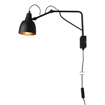 Regulowana lampa ścienna - czarny kinkiet 50cm (1xE27) Aldex (soho) 1002C1/M