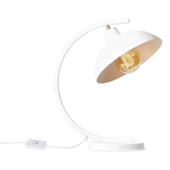 Biała industrialna - loftowa lampa stojąca (biurkowa 1xE27) Aldex (Espace) 1036B