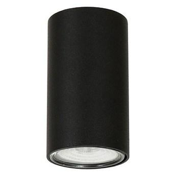 Lampa sufitowa natynkowa LED - czarna tuba 1xGU10, Aldex (Ares) 1043PL/G1