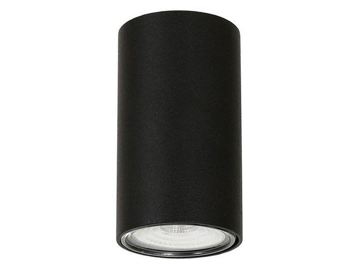 Lampa sufitowa natynkowa LED - czarna tuba 1xGU10, Aldex (Ares) 1043PL/G1 Oprawa schodowa Oprawa stropowa Okrągłe Oprawa led Kolor Czarny Kategoria Oprawy oświetleniowe