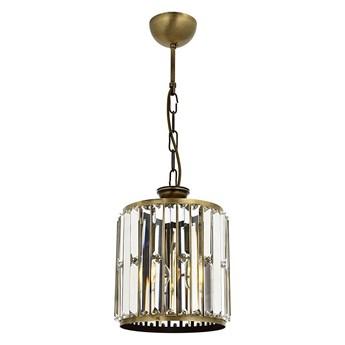 Nowoczesna lampa wisząca - patynowy szklany żyrandol 1xE27, Avonni AV-1667-1E