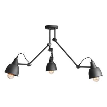 Regulowana lampa sufitowa (3 ramiona) grafitowa plafoniera 3xE27, Aldex (Aida) 814PL/E19