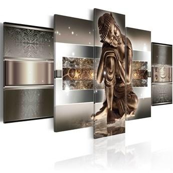 SELSEY Obraz - Śpiący Budda 100x50 cm
