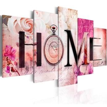 SELSEY Obraz - Dom róż 100x50 cm
