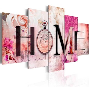 SELSEY Obraz - Dom róż 200x100 cm