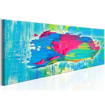 SELSEY Obraz - niebieska wyspa 120x40 cm