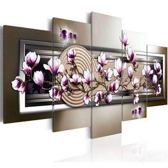 SELSEY Obraz - Magnolia i zen 200x100 cm