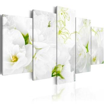 SELSEY Obraz - Naturalna biel 200x100 cm