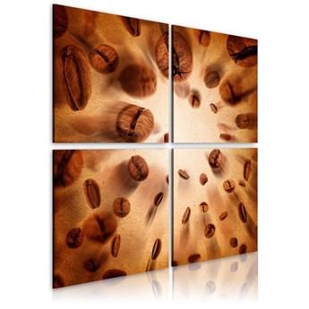 SELSEY Obraz - Energetic coffee 80x80 cm