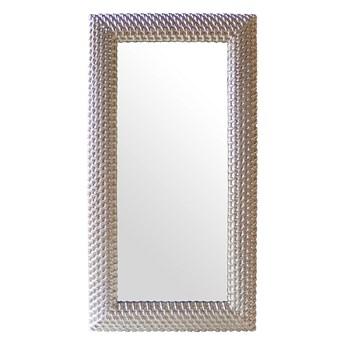 SELSEY Lustro ścienne Lonize 111x208 cm srebrne