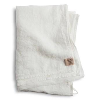 Lovely Linen- ręcznik złamana biel