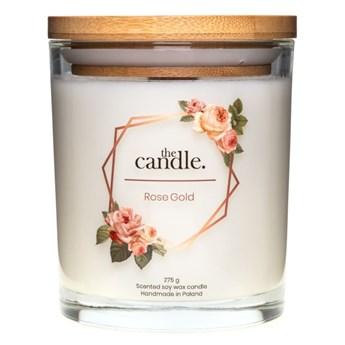 The Candle - świeczka o zapachu różanym  S-M-L