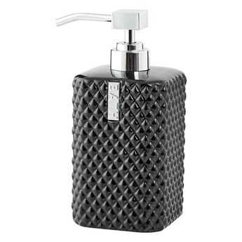 Lene Bjerre- czarny dozownik do mydła Marion