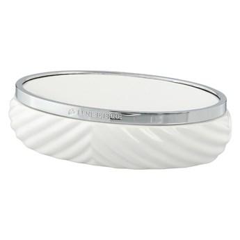 Lene Bjerre- biała ceramiczna mydelniczka Milda