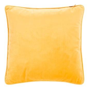 Żółta poduszka Tiseco Home Studio Velvety, 45x45 cm