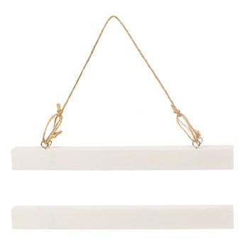 Biała magnetyczna ramka na plakat Sass & Belle, szer. 22 cm