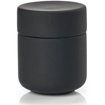 Pojemnik z pokrywką Ume Ø8x10 cm czarny
