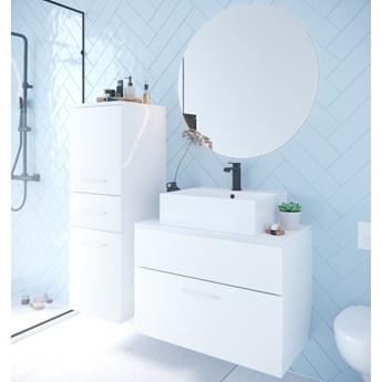 Łazienka BUSTO biały laminat