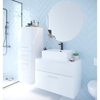 Łazienka BUSTO biały połysk