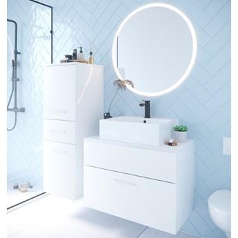 Łazienka BUSTO LED biały laminat