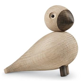 Figurka z litego drewna dębowego Kay Bojesen Denmark Songbird Alfred