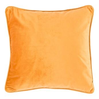 Jasnopomarańczowa poduszka Tiseco Home Studio Velvety, 45x45 cm