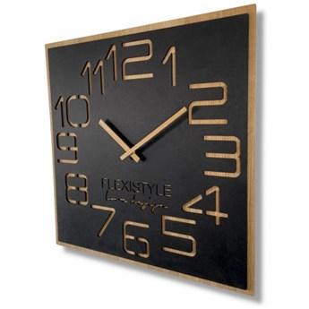 Duży zegar ścienny EKO DIGITS 60cm