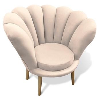 Fotel glamour muszelka ADELE / kolory do wyboru