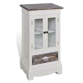 Biały kredens w stylu vintage - Vaso