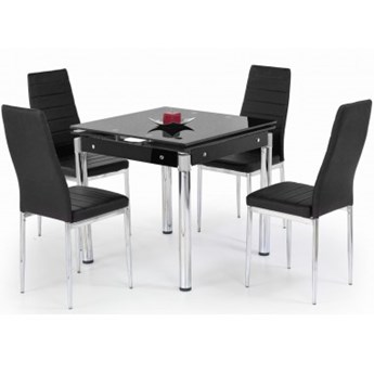 Stół Rozkładany Kent Czarny Halmar