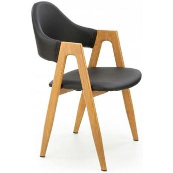 Krzesło Tapicerowane K247 Czarne Loft