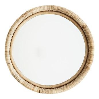 Madam Stoltz - Lustro w bambusowej ramie