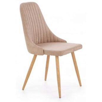 Krzesło Tapicerowane K285 Beżowe do Kuchni