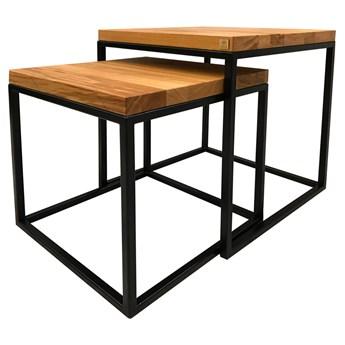 SELSEY Zestaw stolików kawowych Venize 50x50 cm