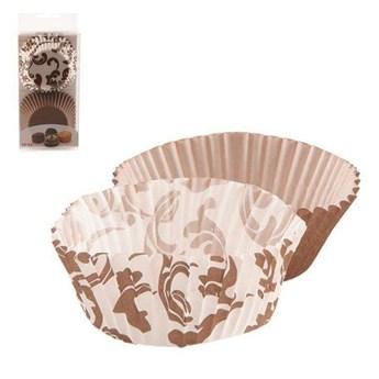 Papilotki cukiernicze do muffinek, foremka na babeczki, śr. 6,5 cm, 60 sztuk kod: O-123236