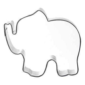 Wykrawacz, foremka do ciastek, pierników, słoń, słonik kod: O-124993