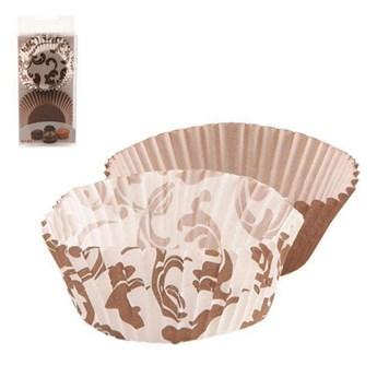 Papilotki cukiernicze do muffinek, foremka na babeczki, śr. 7 cm, 60 sztuk kod: O-123235