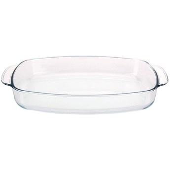 Naczynie żaroodporne szklane, brytfanna, brytfanka, forma do pieczenia, zapiekania mięsa, warzyw, 3, kod: O-259042