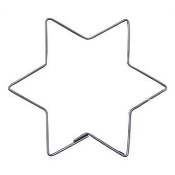 Wykrawacz, foremka do ciastek, pierników, gwiazda kod: O-121136