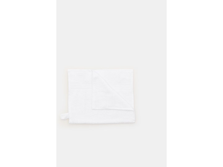 Sinsay - Ręcznik bawełniany - Biały Bawełna 30x50 cm Kategoria Ręczniki