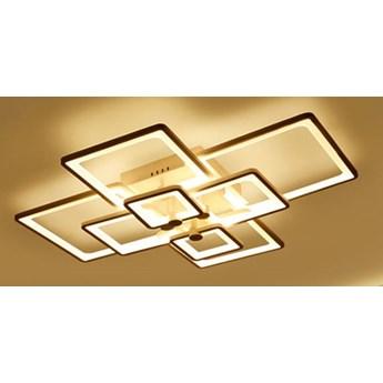 Kwadraty 6 - plafon - lampa sufitowa LED 80x60cm